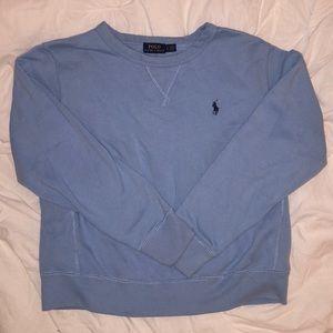 Blue ralph lauren polo sweatshirt